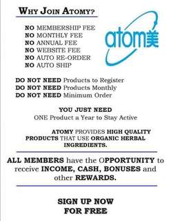 Why join Atomy? Atomy Global Network