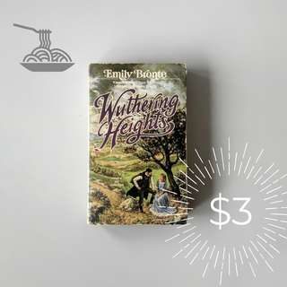 Wuthering Heights by Emily Bronte lah