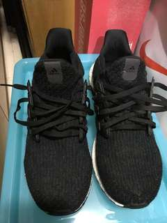Used Adidas UltraBoost 3.0 Black Us11 粗著返工鞋