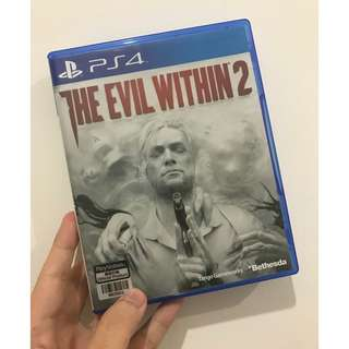 Game BD PS4 The Evil Within 2 Reg 3 Asia Bekas Second