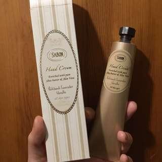 Sabon Hand Cream包郵 50ml