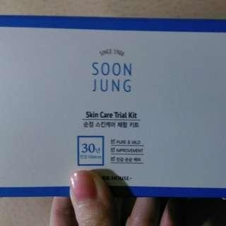 [全新正品]Etude House <soon jung> 純淨調理四件組
