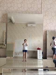 Kaca tembok | mirror | fitting mirror