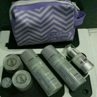 Adeeva skincare paket whitening + serum