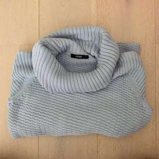 Piper Baby Blue Knit Sweater
