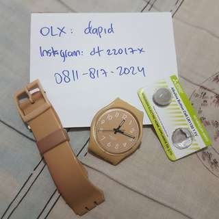 jam tangan wanita swatch original standard ladies