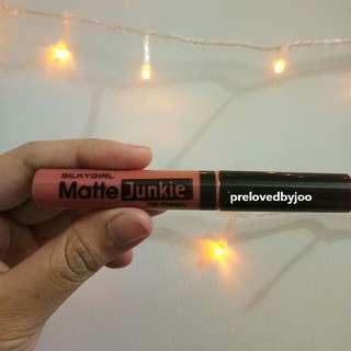 LIP MATTE JUNKIE BY SILKY GIRL SHADE VINTAGE