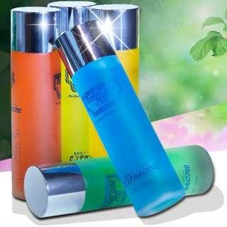 Car Perfume Refill Bottles (lemon and Ocean Fresh Scent)