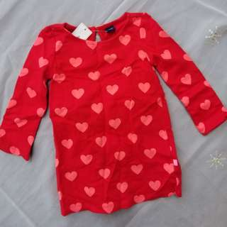babyGap red dress