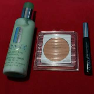 Bundle Facial soap, Bedak & Mascara