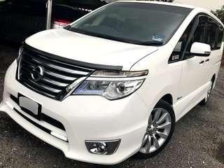 SAMBUNG BAYAR / CONTINUE LOAN  Nissan Serena 2.0 cc Highstar Hybrid