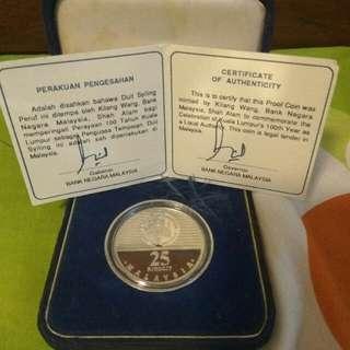 Duit syiling RM25 edisi khas