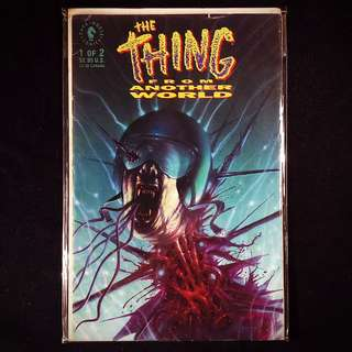 The THING From Another World #1 (1991 Dark Horse)