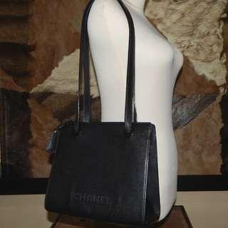 SALE!!! CHANEL vintage caviar shoulder bag (#5)