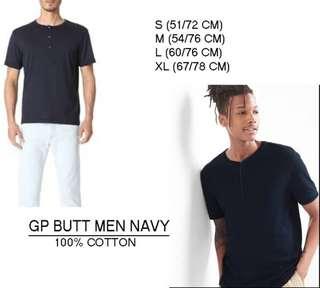 Branded GP Butt Men Navy