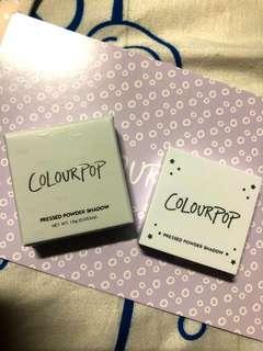 Colourpop single eyeshadow palette (empty-no eyeshadow)
