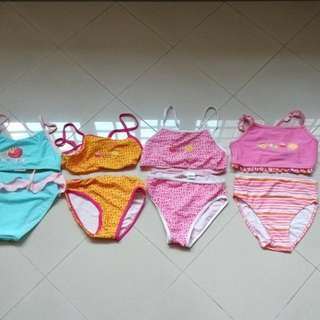 $3 per set NEW YT MRT girl's swimming costume