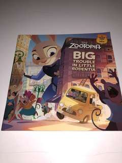 Disney Zootopia, Big Trouble in Little Rodentia, English Children Story Book
