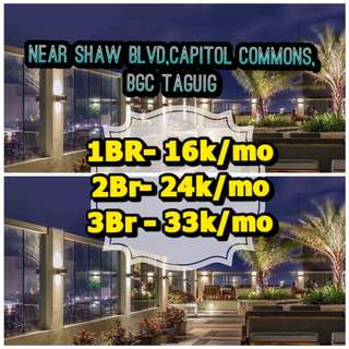 CONDO PRESELLING DMCI PRISMA RESIDENCE SHAW BLVD CAPITOL COMMONS SHANGRILA MALL