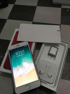 SELLING, LEGIT iphone 7+ 128gb RED EDITION gpplte openline to all network.