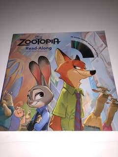 Disney Zootopia, Read Along Children Story Book