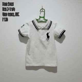 Toddler Boy's Polo Shirt