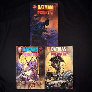 Batman Versus Predator #1, 2, 3 (1991 Dark Horse / DC) [Lot of 3]