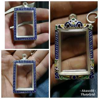 Amulet silver casing