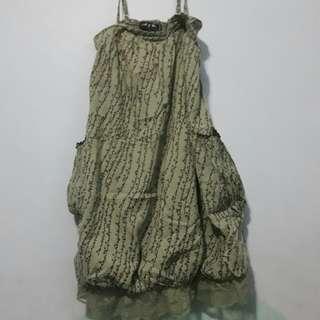 Free Shipping M & Co. Spaghetti Strap dress