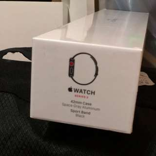 Apple Watch Series 3 42mm Cellular + GPS Space Grey