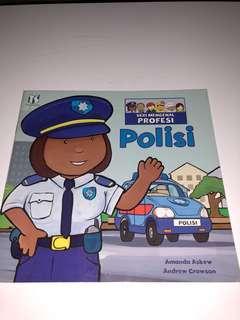 Buku Cerita Anak, POLISI, Seri Mengenal Profesi
