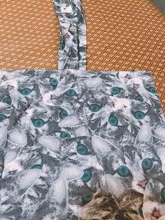 H&M 貓貓 Tote Bag