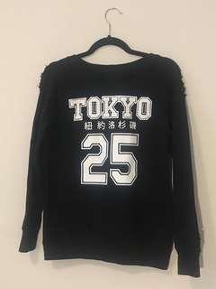 Black Tokyo Graphic Sweater