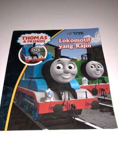 Thomas & Friends, Lokomotif yang Rajin, Buku Cerita Anak
