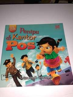 Penipu di Kantor Pos, Aisa Anak Cerdik, Buku Cerita Anak