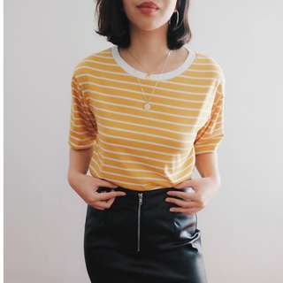 B18 YELLOW STRIPES VINTAGE STYLE SHIRT
