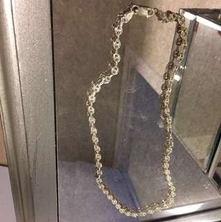 "STERLING SILVER CHAIN ""22inch"