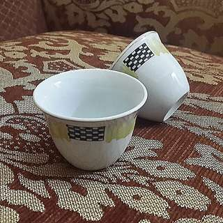 Arabic Coffee Cups 4pcs Bundle