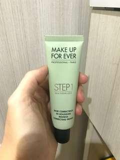 mufe primer step 1 green makeup forever
