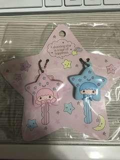 2014 Little Twin Stars 2個扣鎖匙飾物