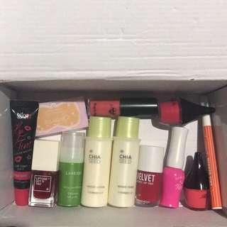 Makeup box ambil semua