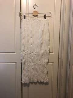 全新 皺皺半身裙