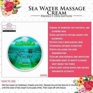 Sea water massage cream