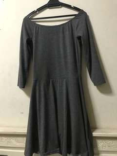 Terranova Grey Skater Dress
