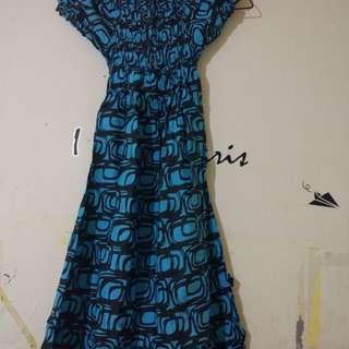 Midi dress blue