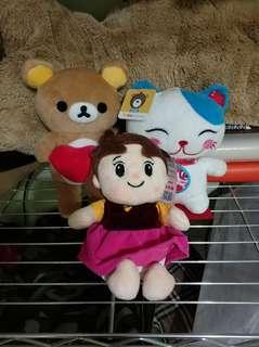 🚚 三隻娃娃