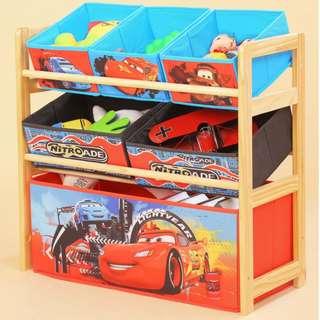 🔥 READY STOCK 🔥 Kids Toy/Books Storage Rack !