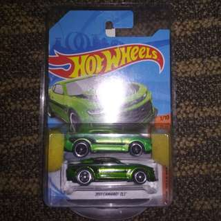 HOTWHEELS $TH 2017 CAMARO ZL1 green sth treasure hunt thunt spectraflame