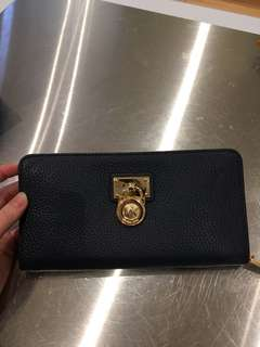 Michael Kors Navy Wallet