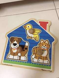 Jumbo Knob House Pet Puzzle